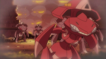 EP781 Genesect en un flashback.png