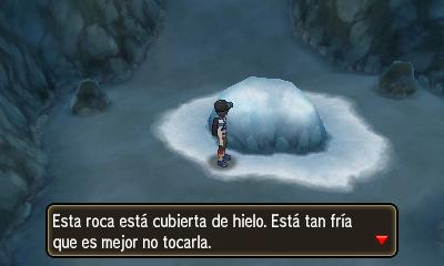 La roca hielo en el Monte Lanakila en S/L.