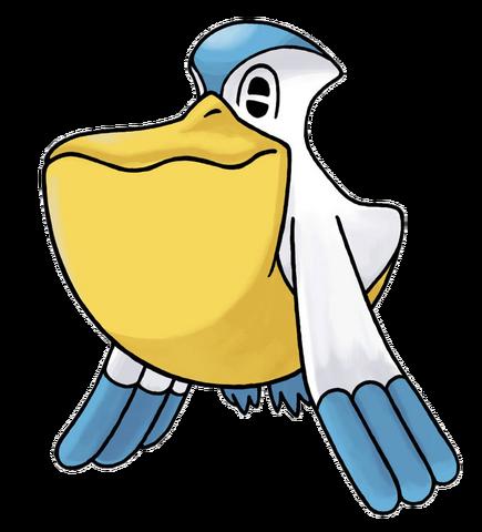Archivo:Pelipper en Pokémon Mundo Misterioso.png
