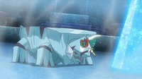 EP923 Hawlucha usando golpe kárate.png