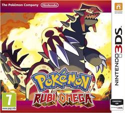 Carátula de Pokémon Rubí Omega