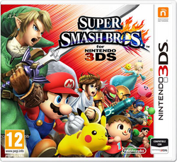 Carátula de Super Smash Bros. para Nintendo 3DS