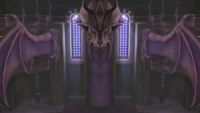 Sala del Draco Liga Pokémon de Kalos SSB4 Wii U