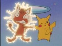 EP016 Pikachu usando impactrueno