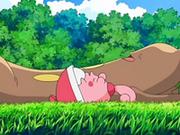 EP553 Sudowoodo y Happiny tumbados en la hierba.png
