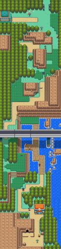 Mapa de la ruta 32