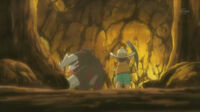 EP723 Excadrill junto Yakón trabajando en una mina