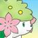 Cara de Shaymin tierra 3DS.png