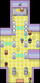 Interior del Gimnasio de Malvalona en los videojuegos
