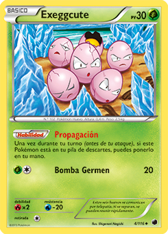 Carta de Exeggcute