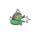 Imagen de Basculin forma raya roja en Pokémon X y Pokémon Y