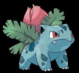Ilustración de Ivysaur