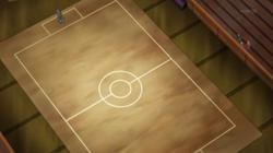 Campo de batalla del Gimnasio de Luminalia en el anime