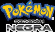 Logo de Pokémon Edición Negra