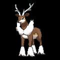 Imagen de Sawsbuck forma verano en Pokémon X y Pokémon Y