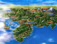 Scan mapa Johto según el anime