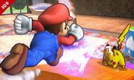 Pikachu usando rayo SSB4 3DS