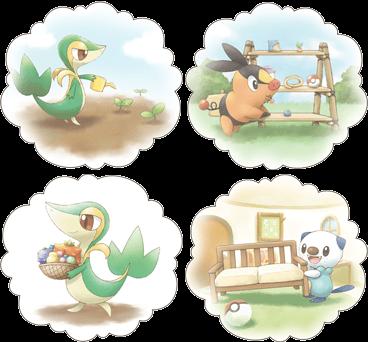 Archivo:Pokémon Dream World actividades.png