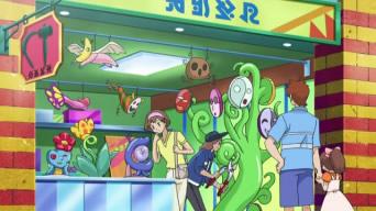 Archivo:EP674 Ciudad Esmalte en el anime.png