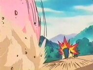 EP161 Cyndaquil vs Miltank