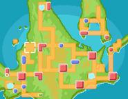 Bosque Vetusto mapa