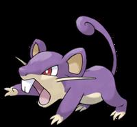 Ilustración de Rattata
