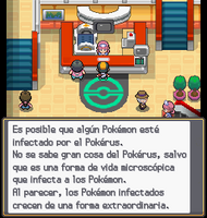 Enfermera Joy notificandote de pokerus sshg