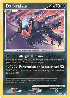 Carta de Darkrai