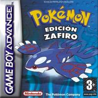 Carátula de Pokémon Zafiro