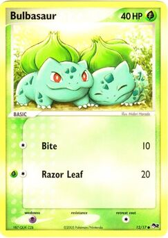 Carta de Bulbasaur