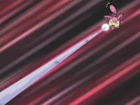 EP392 Skitty usando ayuda (disparo demora)