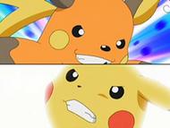 EP543 Raichu y Pikachu