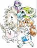 Artwork Pokémon beta tortuga top