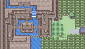 Mapa de la ruta 208