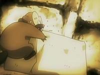 Archivo:EP526 Bibarel perfilando la piedra tiempo atrás.png