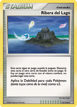 Carta Ribera del Lago