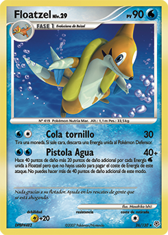 Carta de Floatzel