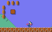 Greninja Super Mario Maker