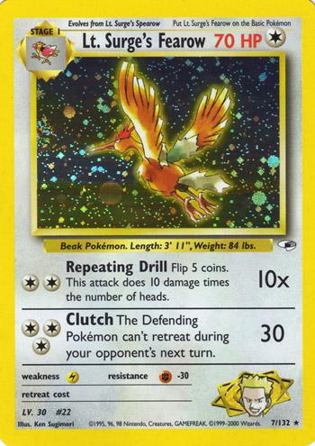 fearow card