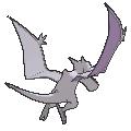 Imagen posterior de Aerodactyl en la sexta generación