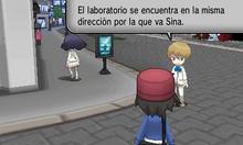 Dexio hablando con el jugador