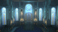 Sala principal Liga Pokémon de Kalos SSB Wii U