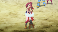 EP903 Shinobu y Serena atrapadas