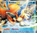 Keldeo-EX (Fronteras Cruzadas TCG)