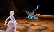 Mewtwo vs Mega Charizard X
