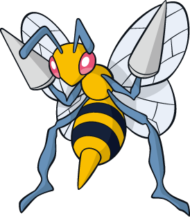 Archivo:Beedrill (dream world).png