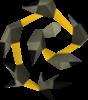 Látigo abisal amarillo Detallado