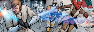 Assault on Mandalorian supply outpost.png