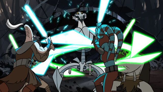 Archivo:Aayla and Ki-Adi vs. Grievous.jpg
