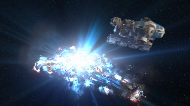 Archivo:Explosion of the Imperial Interdictor.png